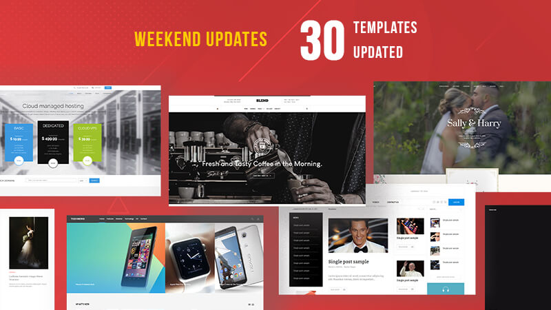 30 gavick Joomla templates updated