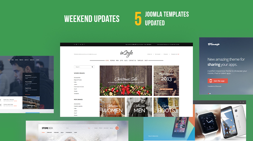 5 gavick Joomla templates updated