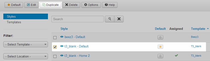 bs3 customization t3 joomla template framework