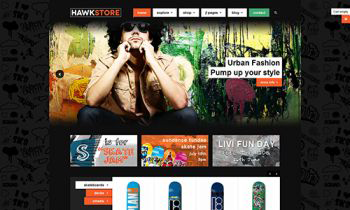 JA Hawstore template