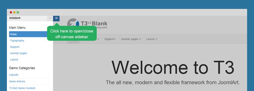 BS3 Configuration - T3 - Joomla Template Framework