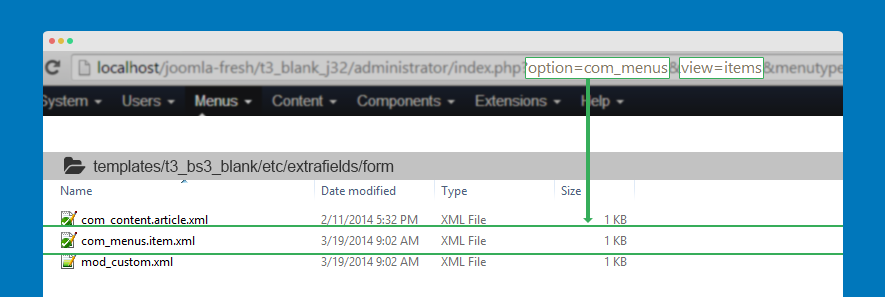 create xml file