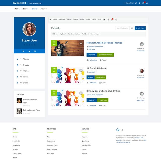Joomla   Change Look Of Home Page
