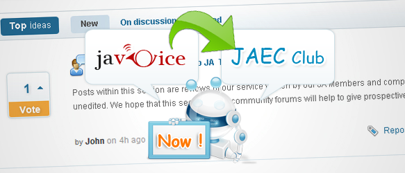 Good News - JA Voice Component is now part of Extension Club