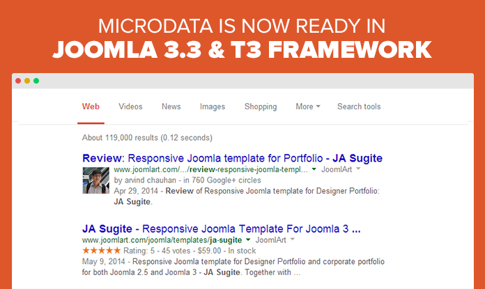 Joomla Microdata 101: Now available in T3 framework for Joomla 2.5 & 3