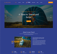 JA Tour Joomla travel template
