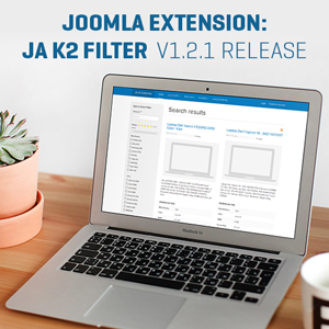 Joomla extension K2 Filter v1.2.1 new features release