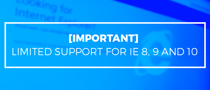 JA support for IE
