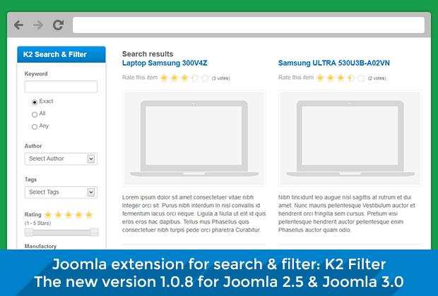 K2 Filter version 1.0.8 - New features, bug fixes and more improvements
