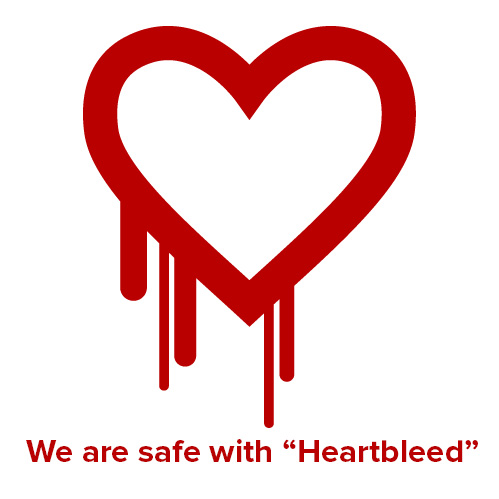 We are safe with Heartbleed!