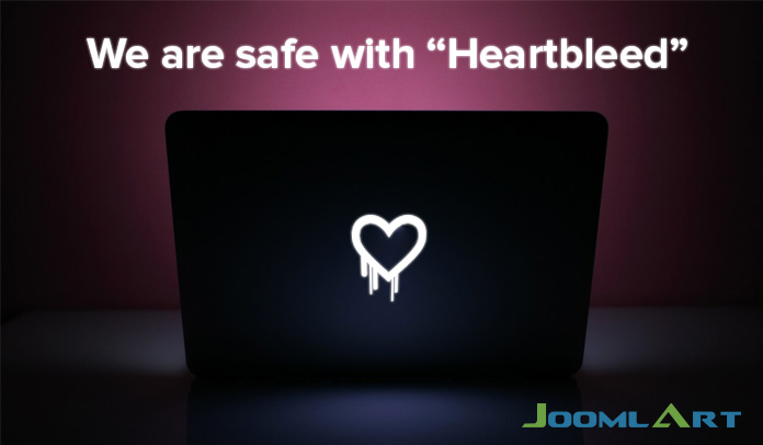 We're safe with Heartbleed
