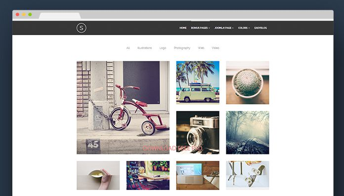 Joomla extensions for a better portfolio