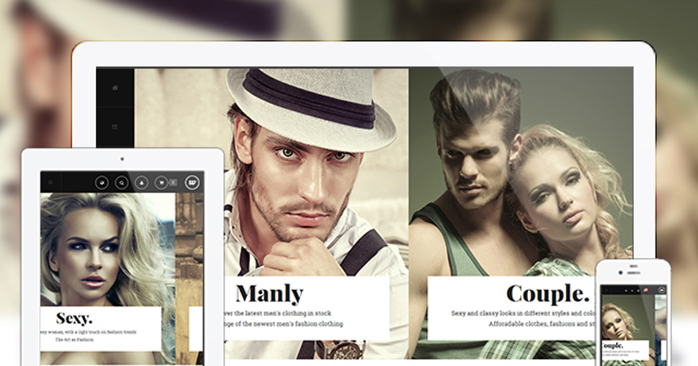 Responsive layout in Magento theme JM Classy