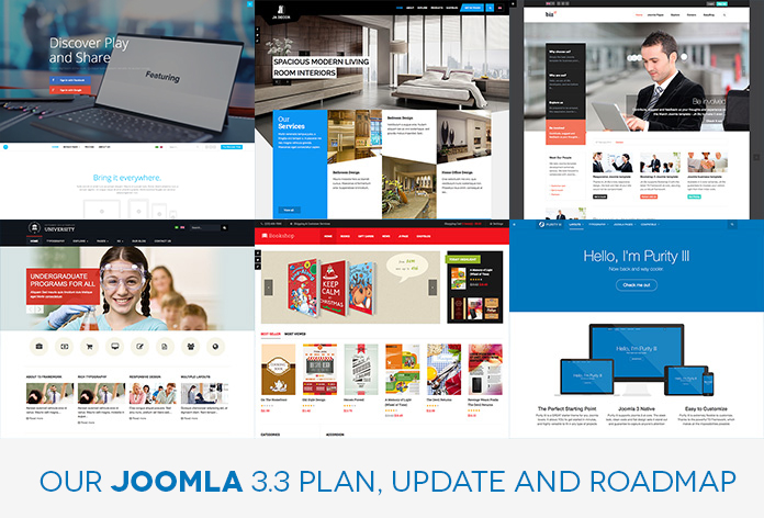 6 Responsive Joomla templates are Joomla 3.3 ready