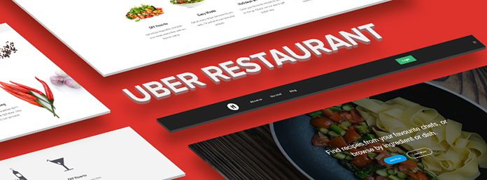 Responsive site template for Restaurant