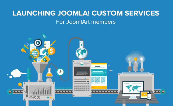 JoomlArt introduces the new Custom Support service