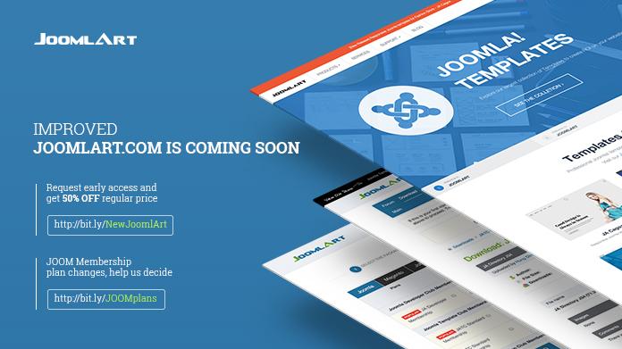 Upcoming improvements to Joomlart com - overview | Joomla