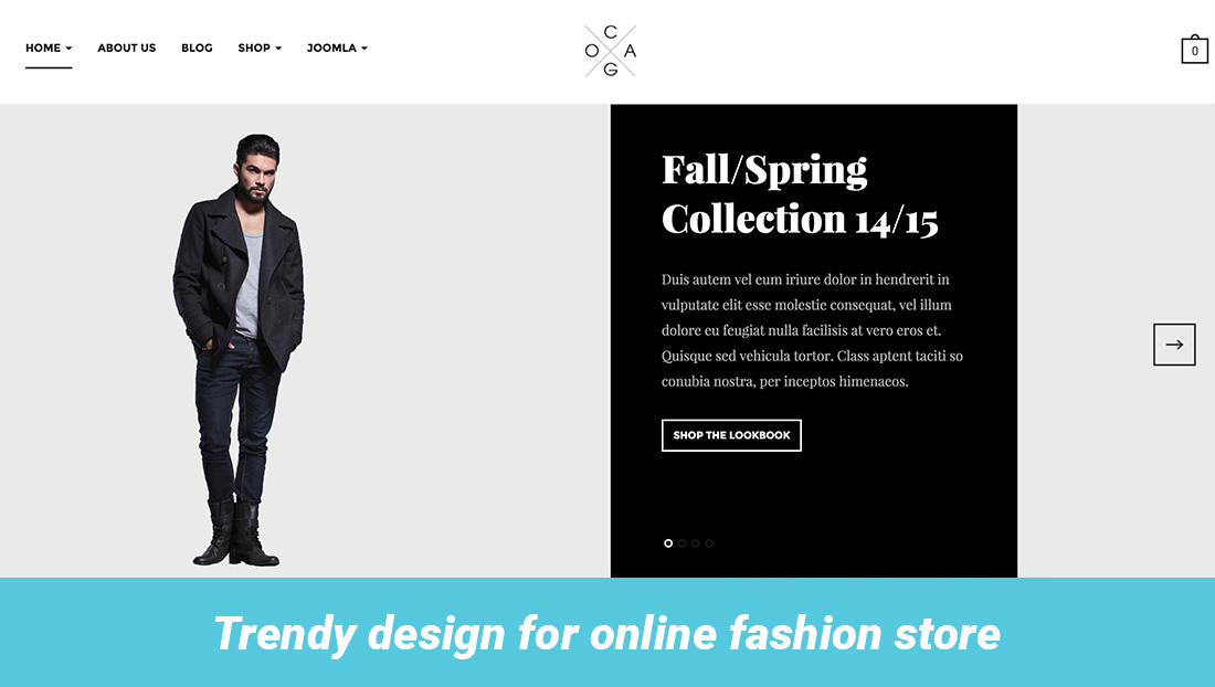 Trendy online fashion store