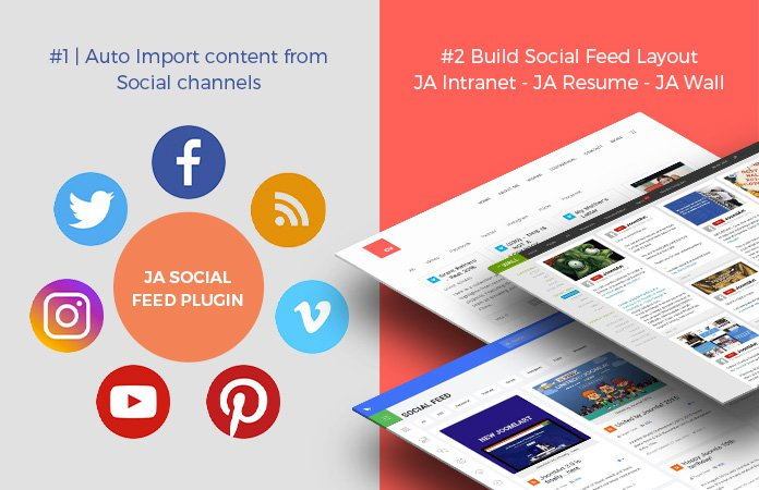 ja social feed extension