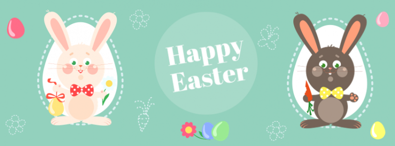 Easter Day Facebook Cover