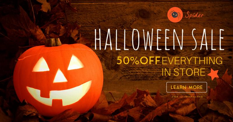 Halloween Facebook Ad 2
