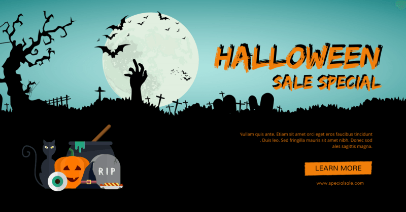 Halloween Facebook Ad 5
