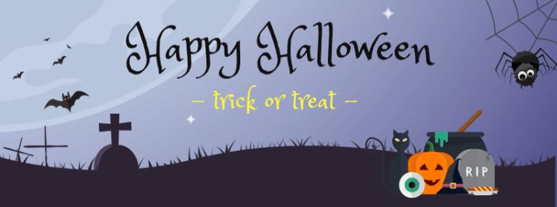 Halloween Facebook Cover 1