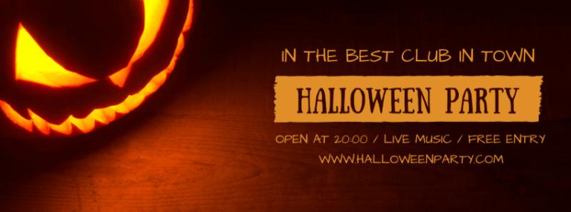 Halloween Facebook Cover 4