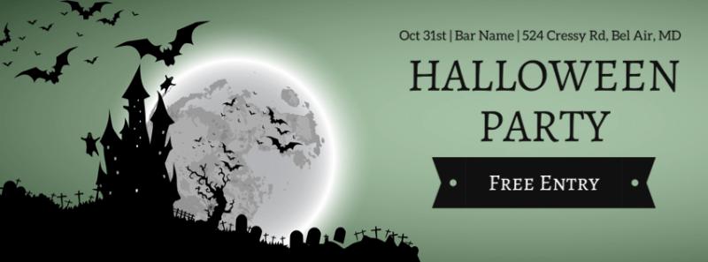 Halloween Facebook Cover 8