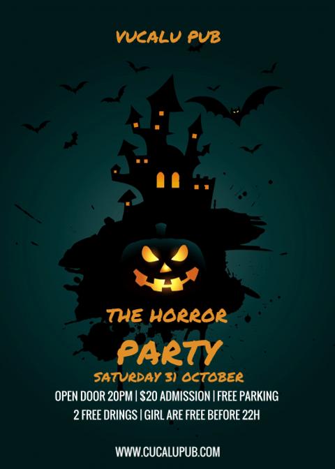 Halloween Invitation Card 5