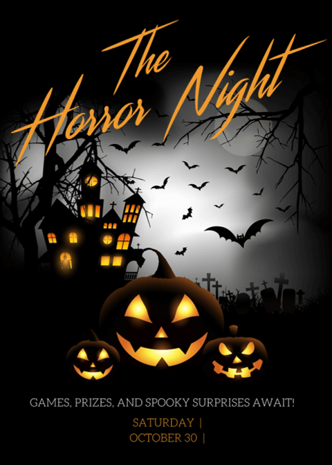 Halloween Invitation Card 7