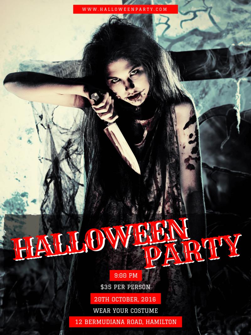 Halloween Invitation Card 8