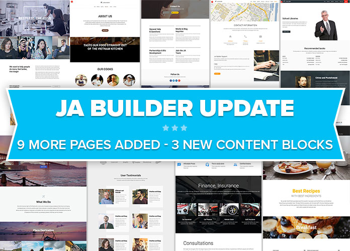 JA Builder pro is released