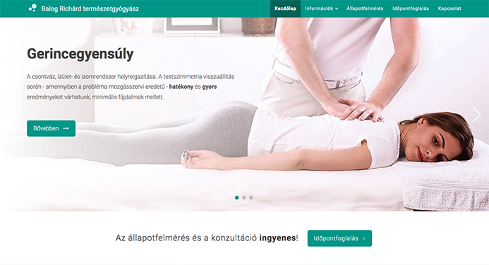 healthcare joomla website