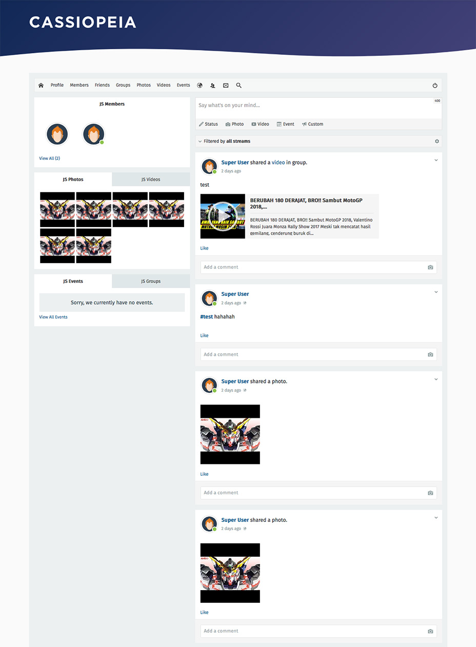 jomsocial preview on joomla 4