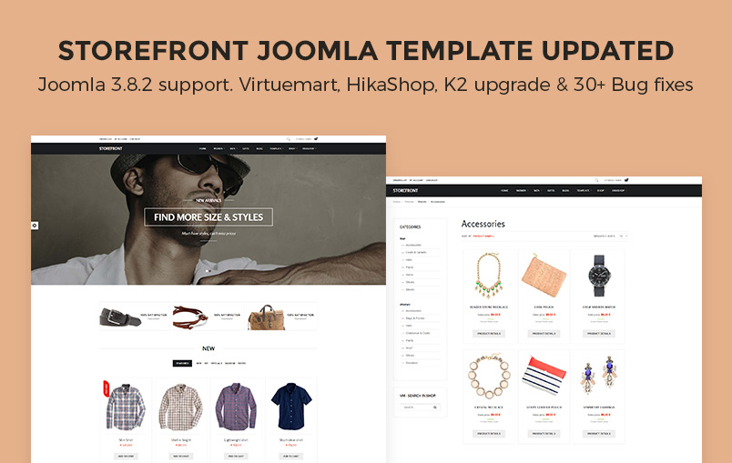 storefront template release