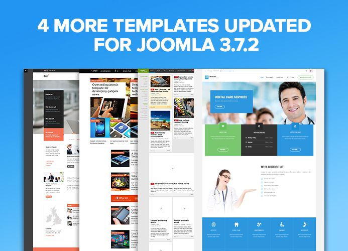 Joomla templates for Joomla 3.7
