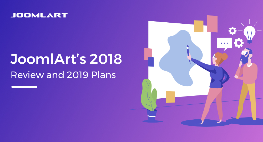 JoomlArt's 2018 review