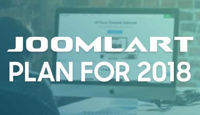 Joomlart plan for 2018
