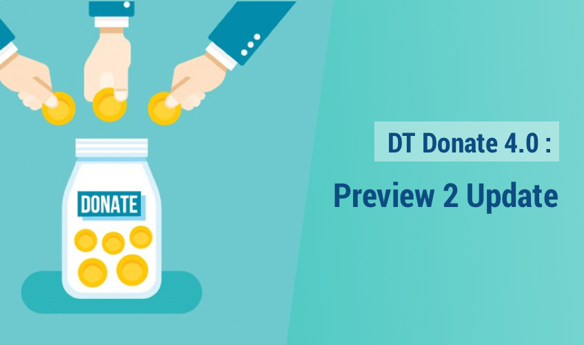 DT Donate - Joomla donation extension preview release