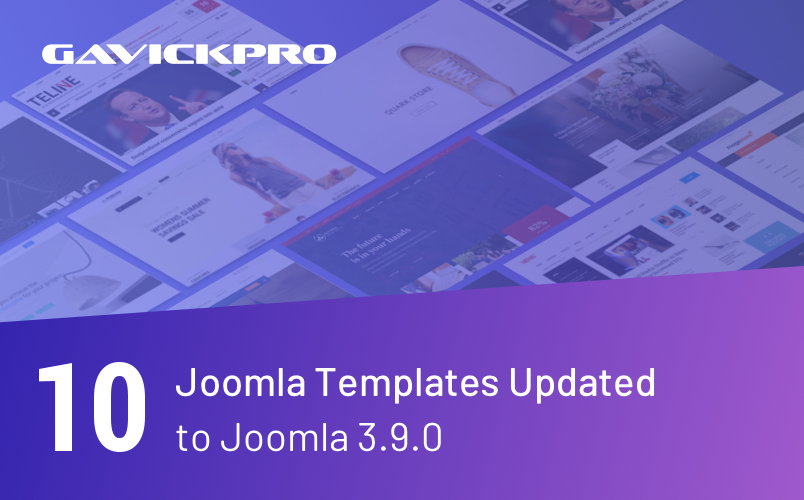 gavick 10 joomla templates updated
