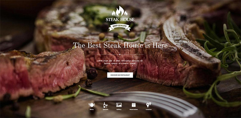 steakhouse joomla template update