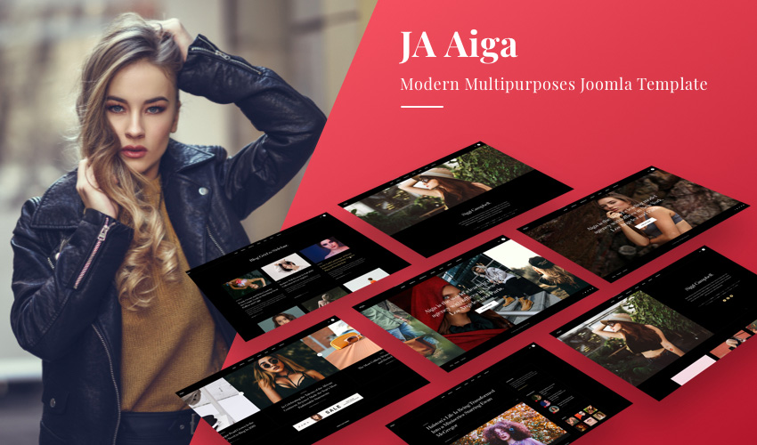 multipurpose Joomla template for model and fashion websites