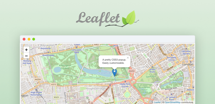 leaflet support joomla extension - JA open street map