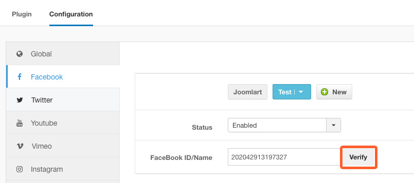 JA Social Feed Plugin updated for Facebook Graph API 3 0 support
