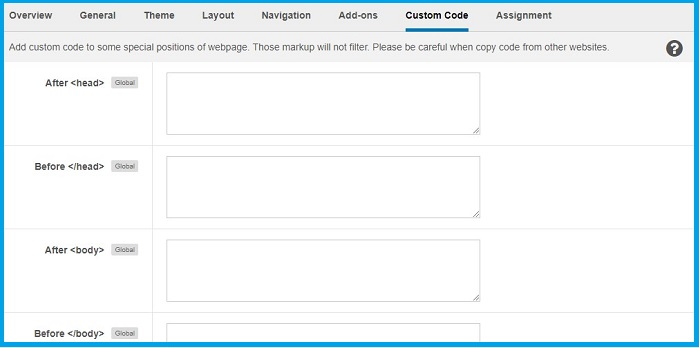 How to add Google Analytics Tracking Code in t3