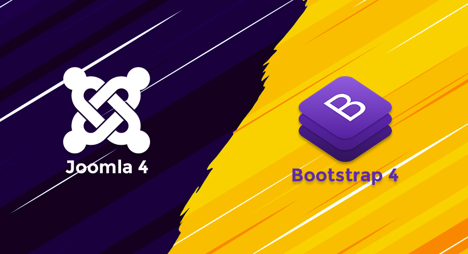Joomla 4 and Bootstrap 4: Perfect integration