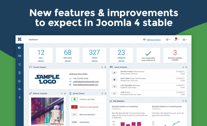joomla 4 new features and improvements
