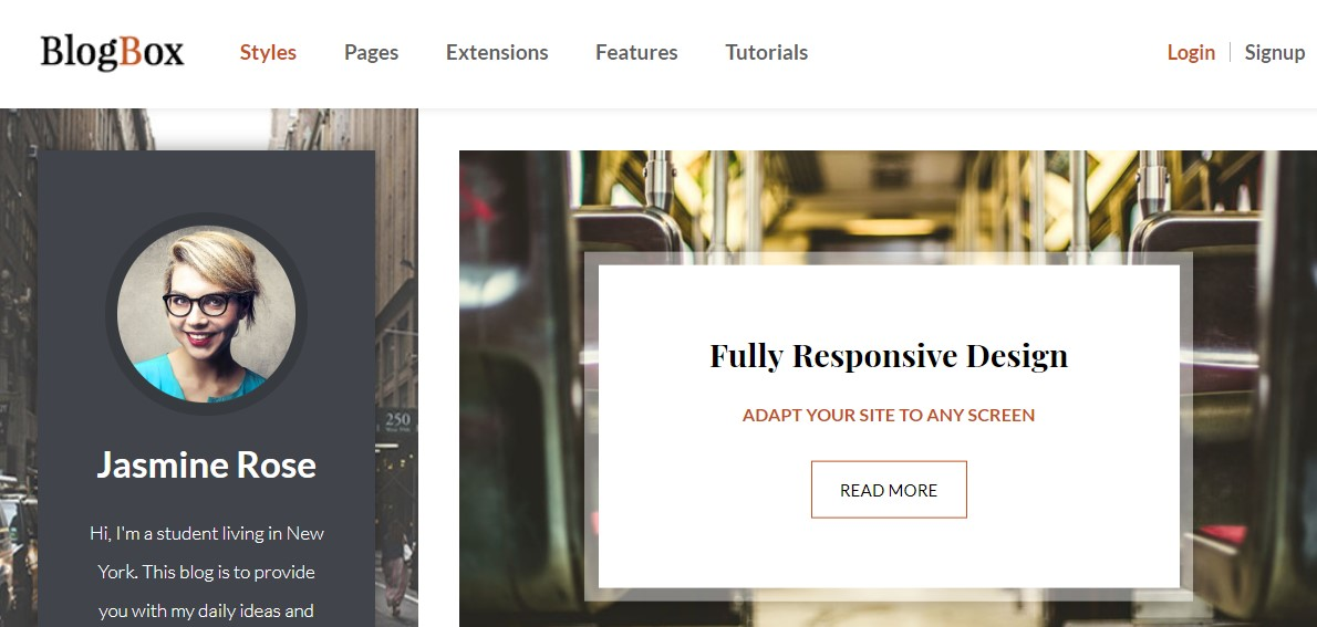 blog Joomla template upgraded for Joomla 3.9.2