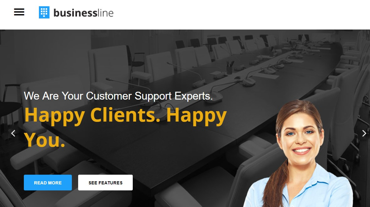 business Joomla template upgraded for Joomla 3.9.2